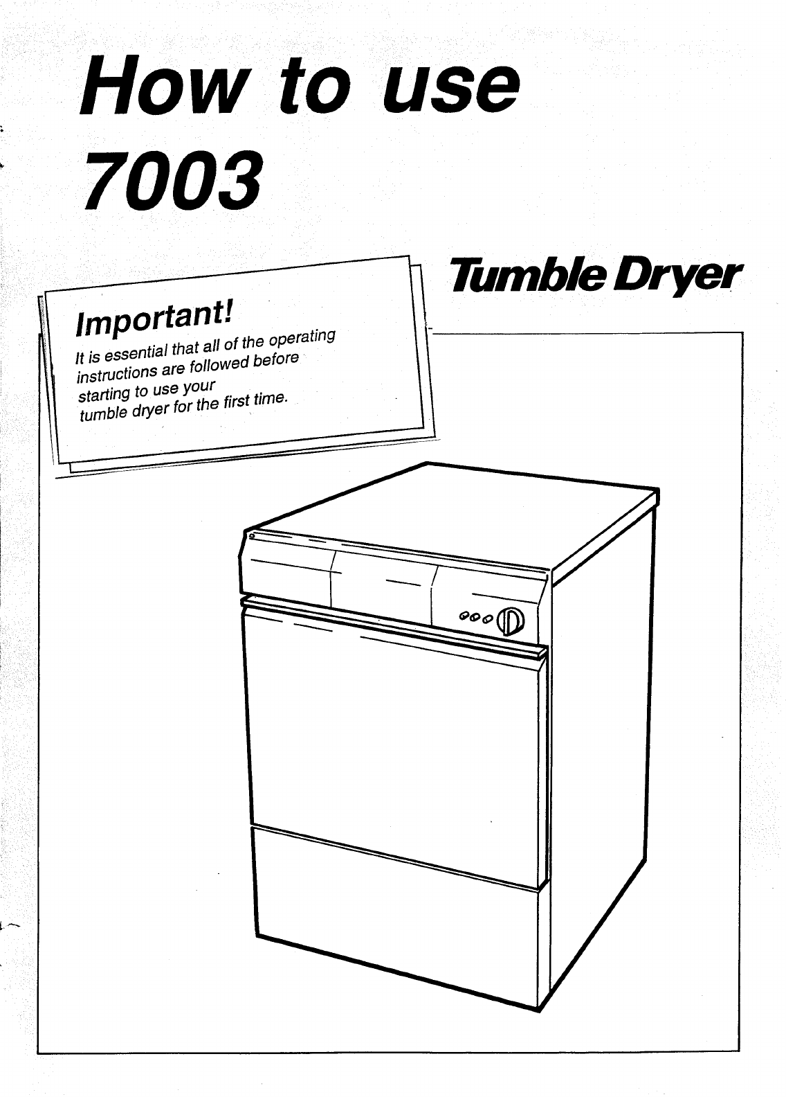 asko clothes dryer 7003 user guide manualsonline com Asko T731 Dryer Asko Washer and Dryer