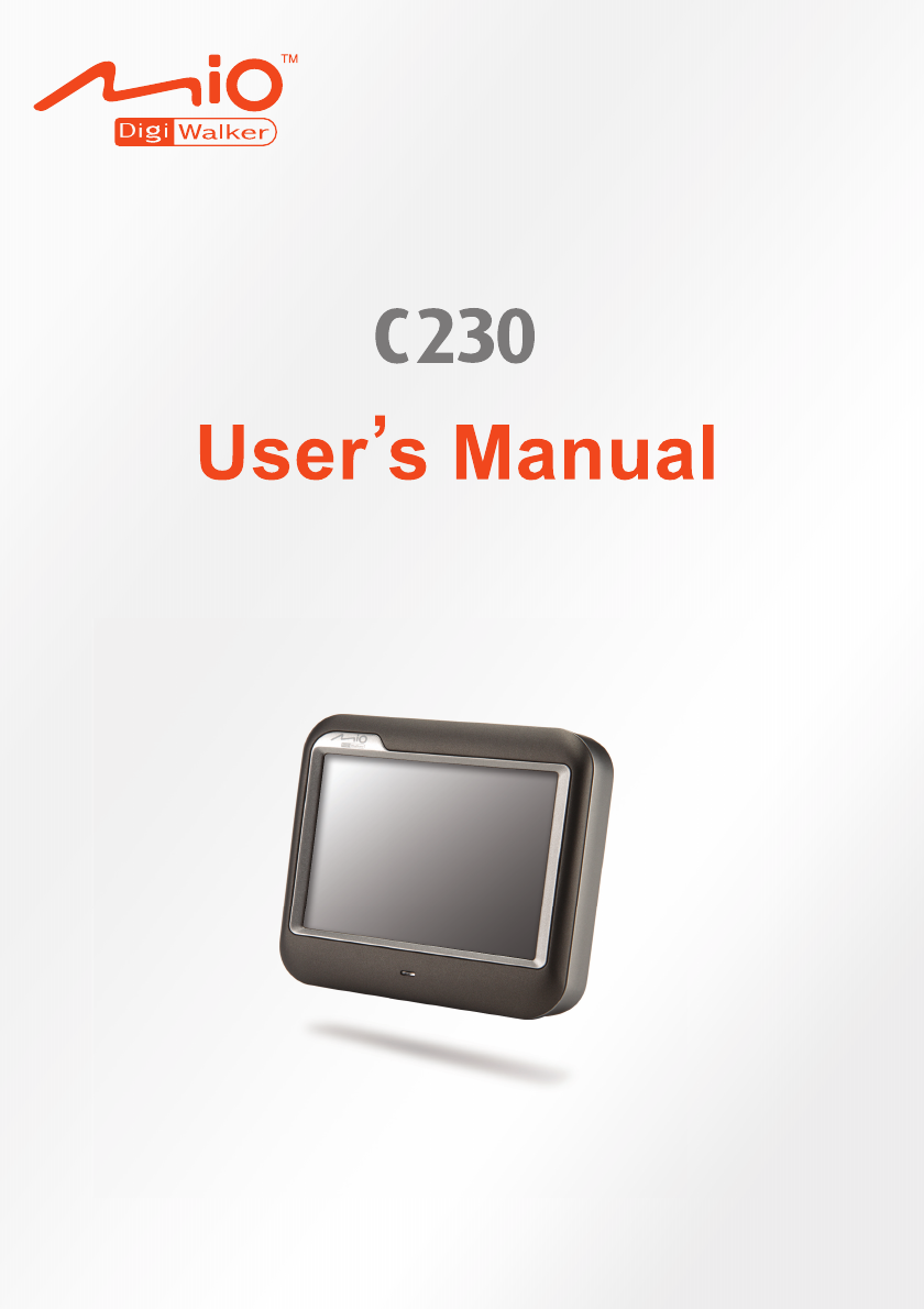mio gps receiver c230 user guide manualsonline com rh auto manualsonline com  Mio GPS Updates