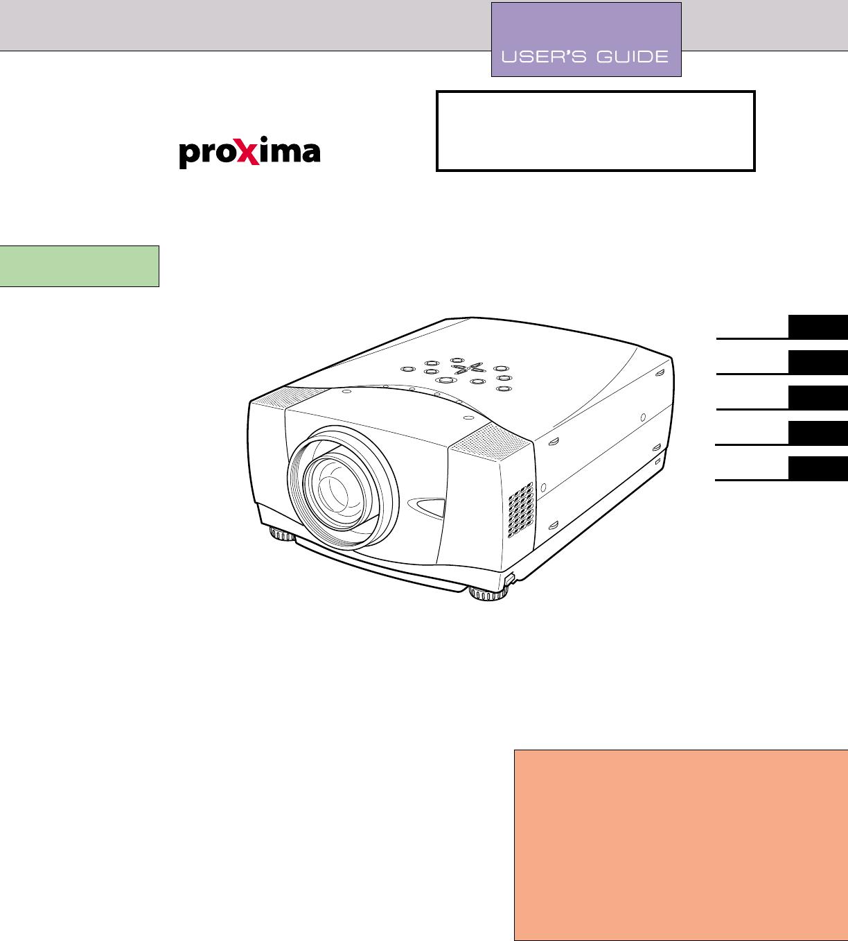 Desktop Projector 9270