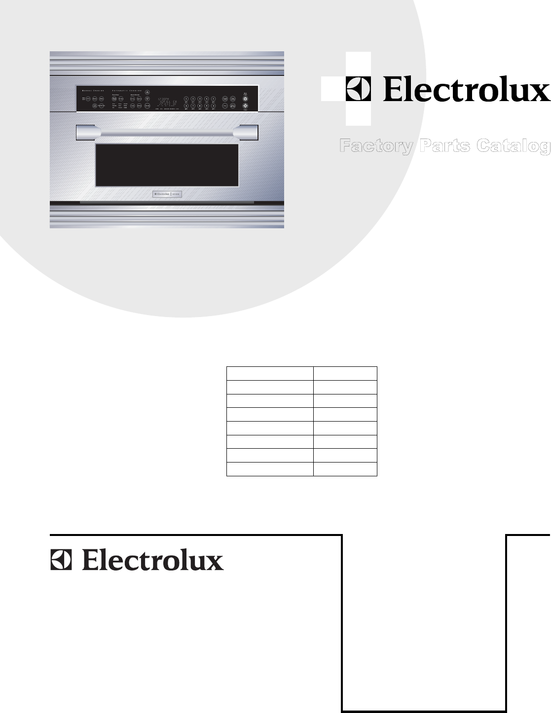 E30SO75FPS cover.eps E30SO75ESS OVEN AND CABINET PARTS.eps E30S075FPS