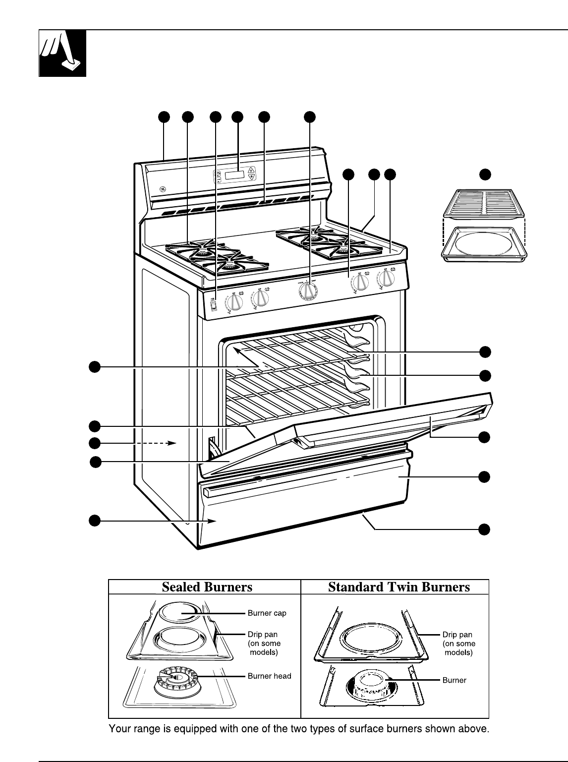 Ge Xl44 Gas Stove Manual