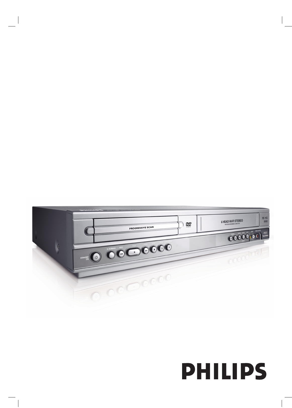 Philips Dvd Vcr Combo Dvp3100v  19 User Guide