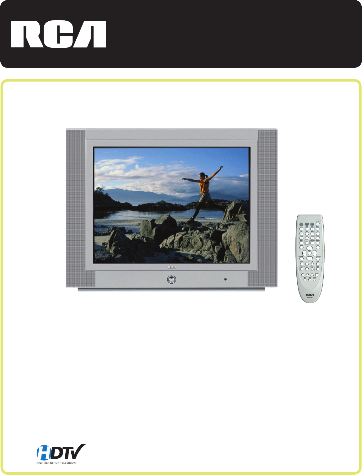 rca flat panel television hd30w854t user guide