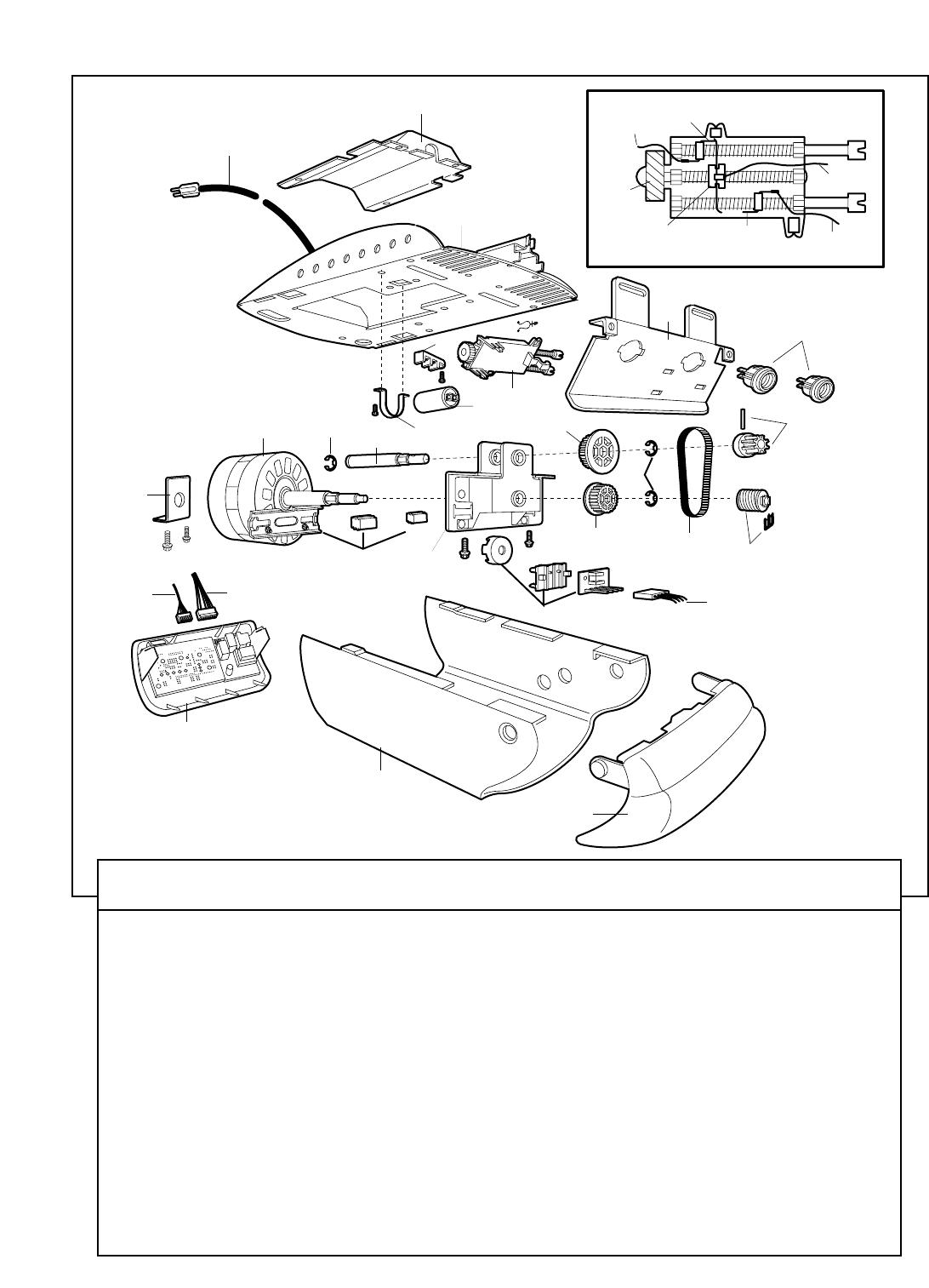 1513 #2D2D2D Page 34 Of Chamberlain Garage Door Opener 3220 1/2 HP User Guide  image Chamberlain Garage Doors Parts 38331092