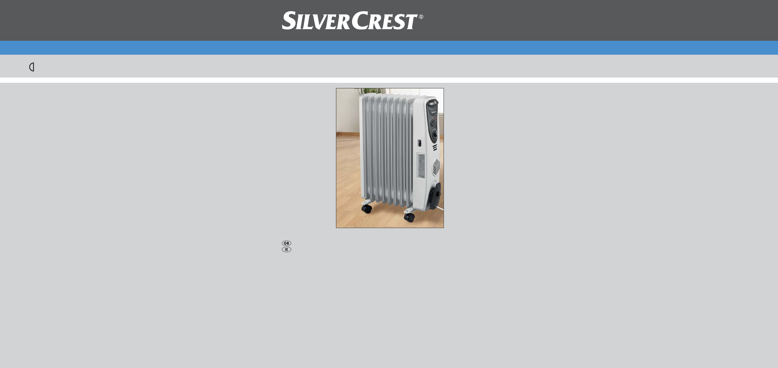 silvercrest electric heater sor 2600 a1 user guide manualsonline com rh homeappliance manualsonline com Avaya Phone Manual User Manual
