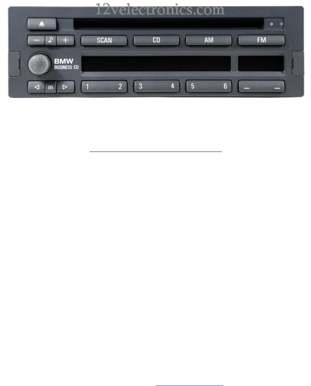 bmw car stereo system cd43 user guide. Black Bedroom Furniture Sets. Home Design Ideas