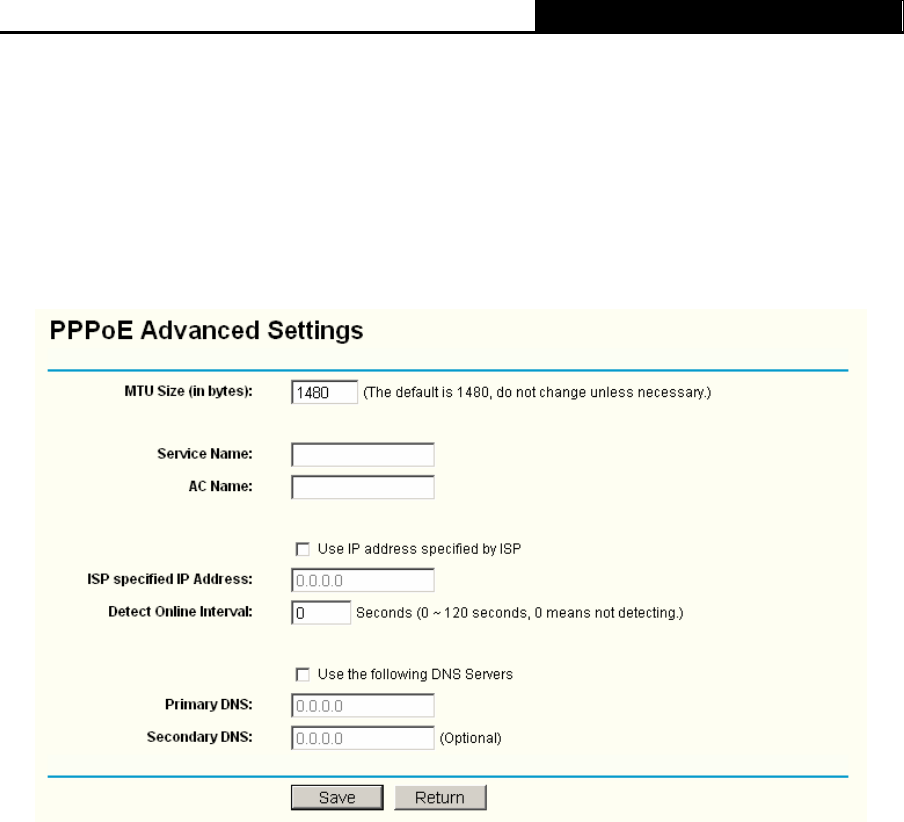 Page 22 of TP-Link Network Router TL-WR340GD User Guide