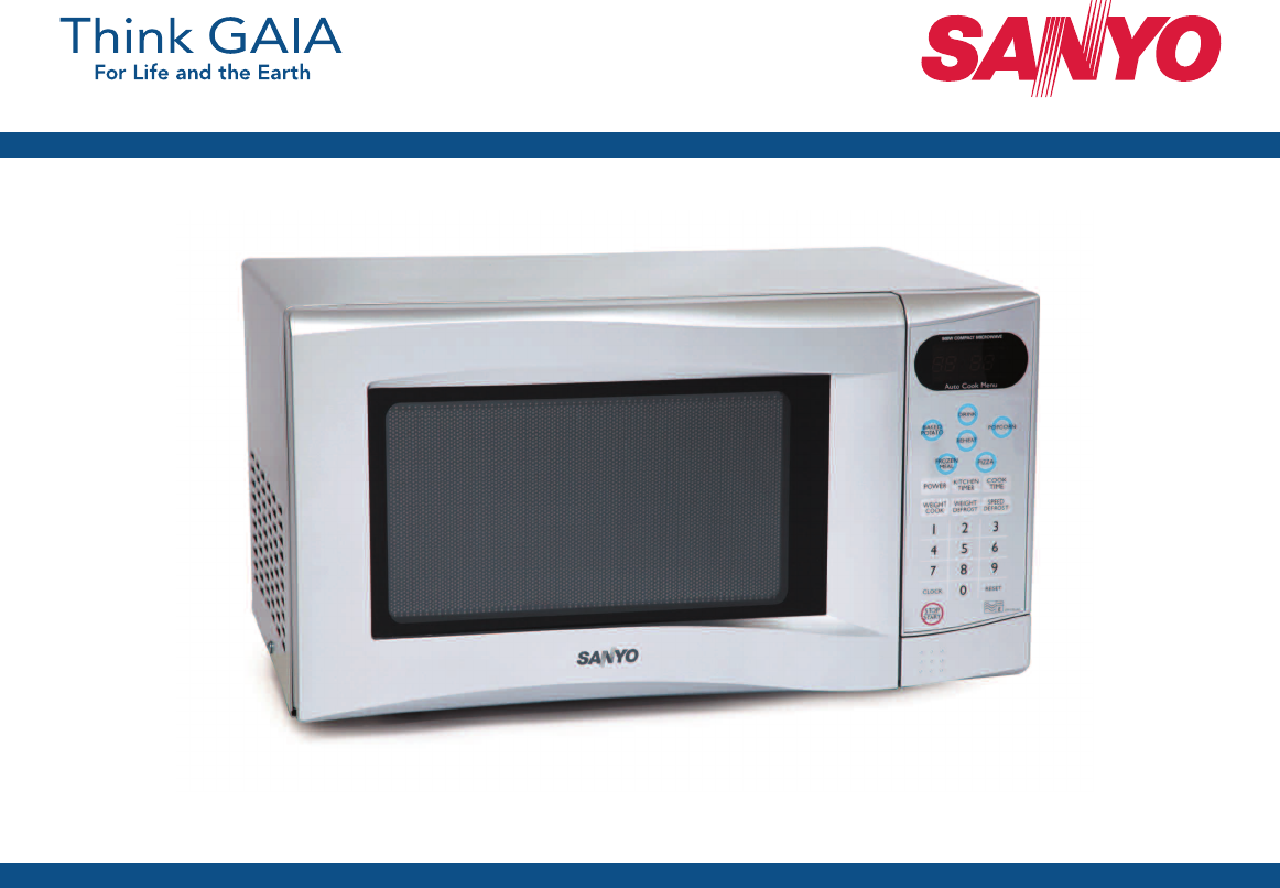 sanyo microwave oven em s355as user guide manualsonline com rh kitchen manualsonline com Manual for Panasonic Microwave sanyo microwave grill combo manual