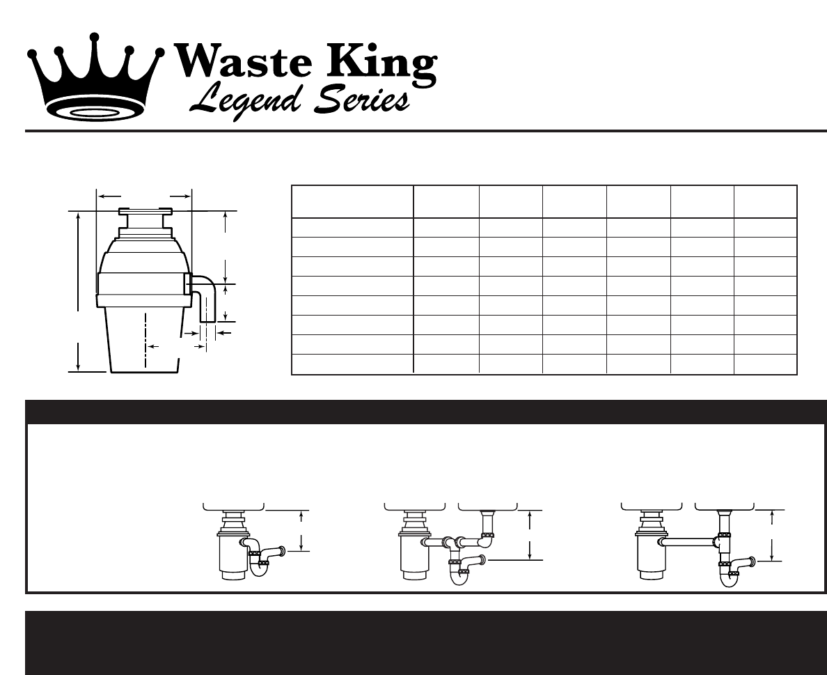 Waste King Garbage Disposal 2600 User Guide Manualsonlinecom Snow Plow Wiring Diagram Manual
