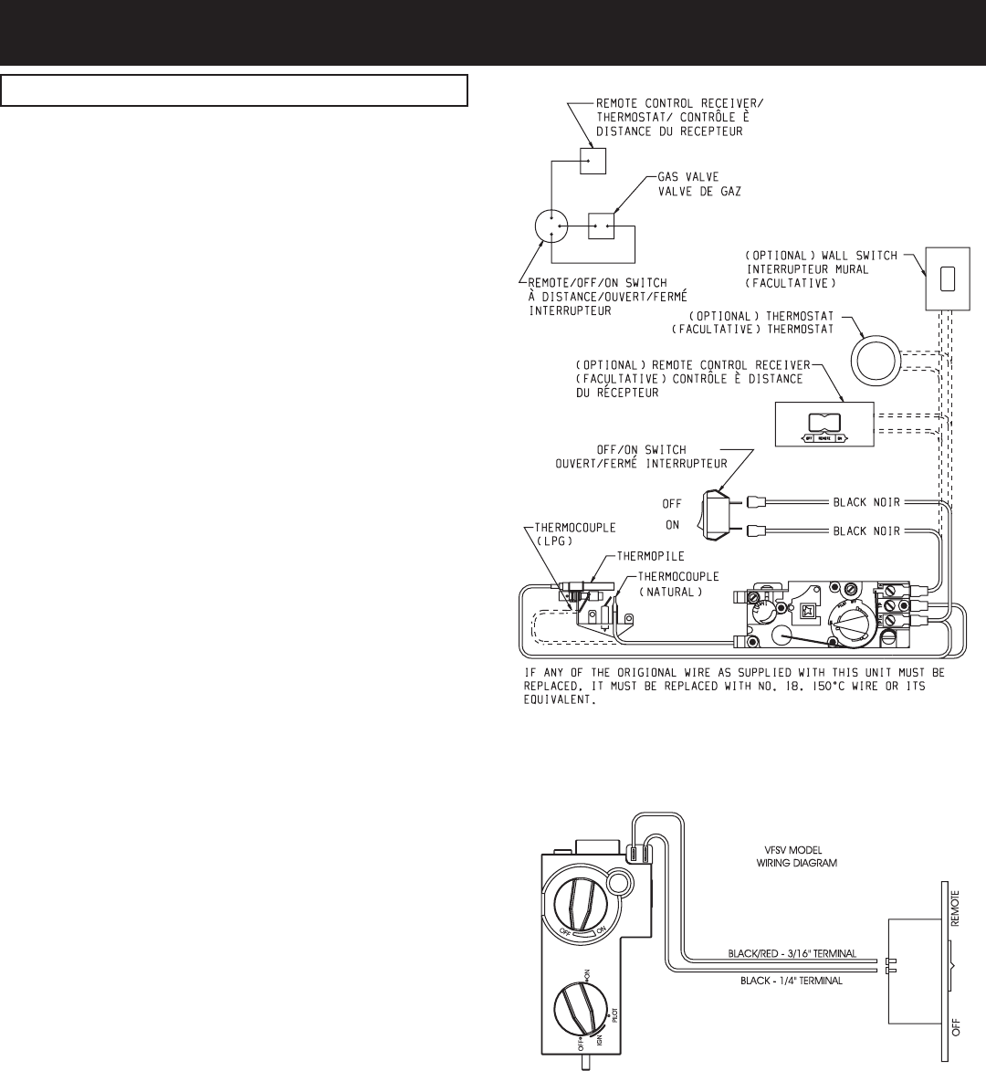 Page 18 Of Empire Comfort Systems Electric Heater Vfsr 16 3 Th Tp Gas Valve Millivolt Wiring Diagram 18954 0 0705