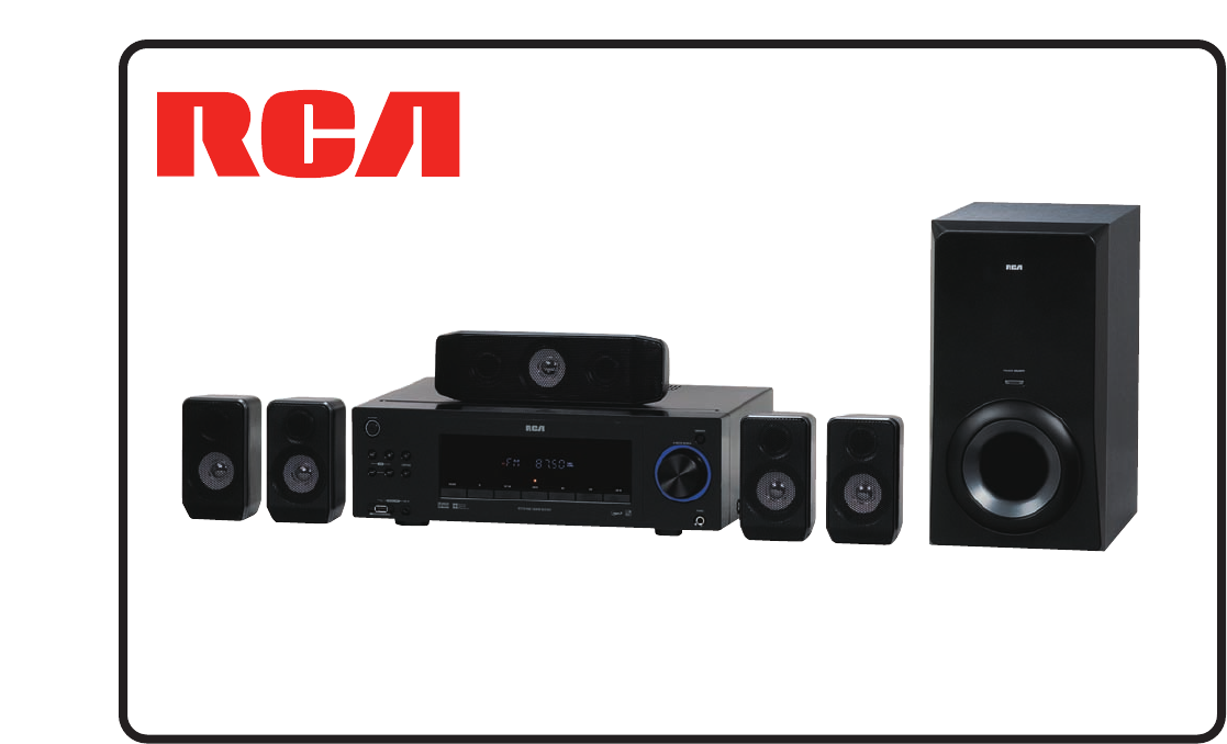 rca home theater system rt2770 user guide. Black Bedroom Furniture Sets. Home Design Ideas