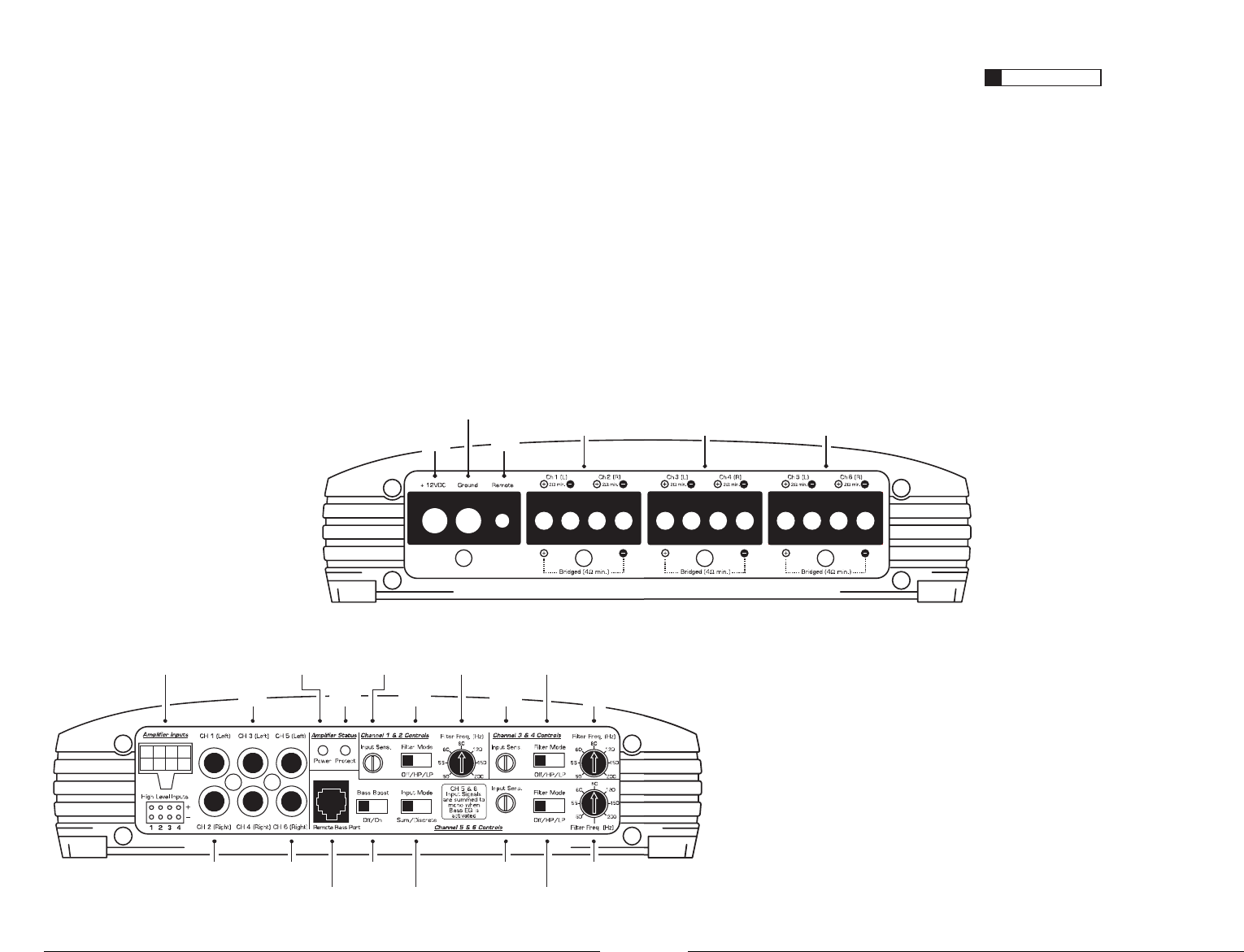 Jl audio a6450 user manual | page 7 / 11.