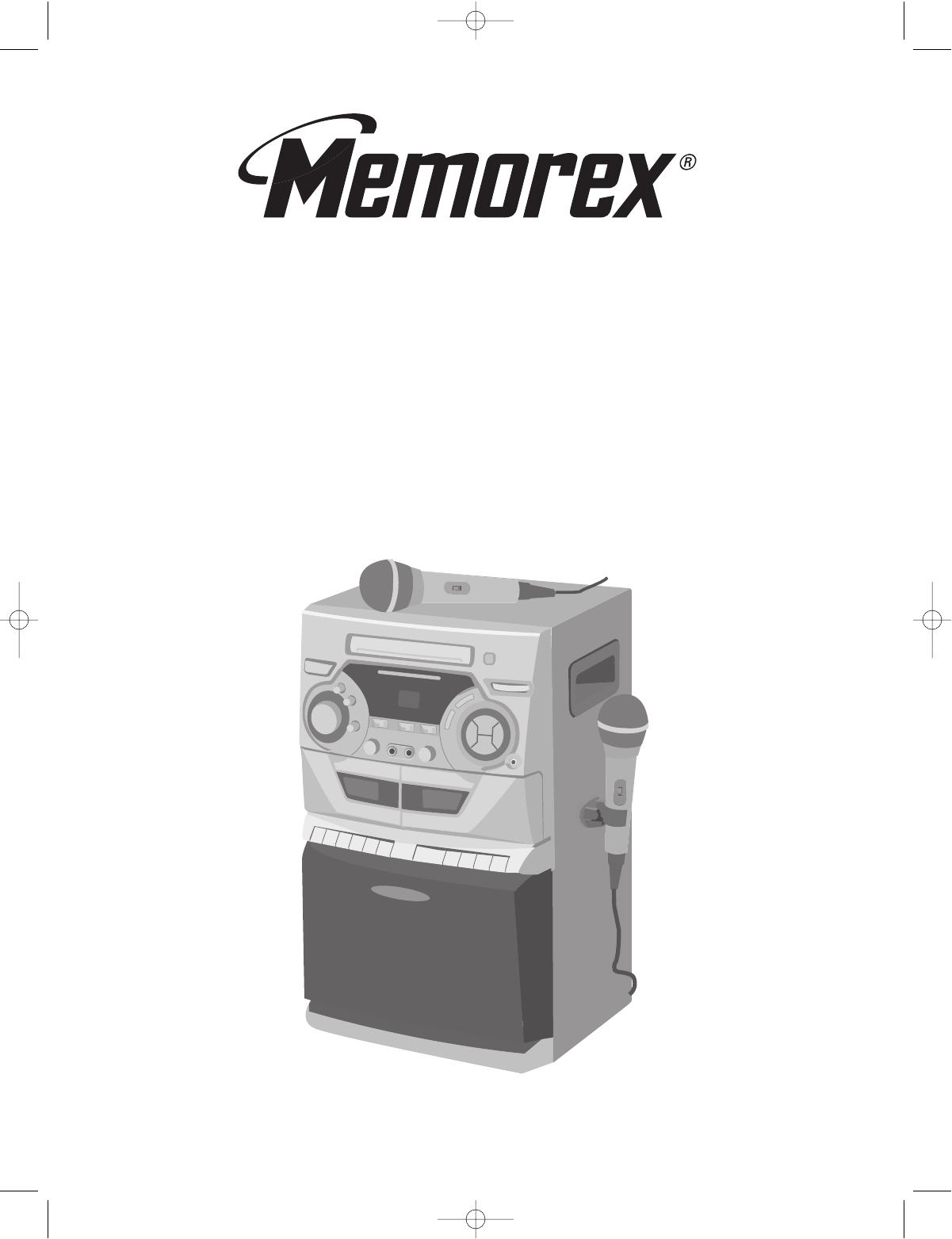 memorex stereo system mks5012 user guide