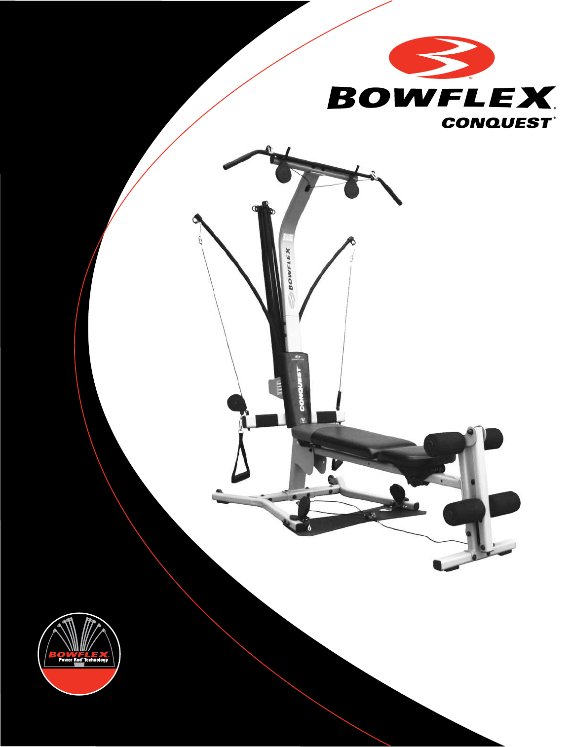 bowflex home gym conquest user guide manualsonline com rh fitness manualsonline com bowflex motivator 2 manual to print for free Bowflex Motivator 2 Poster