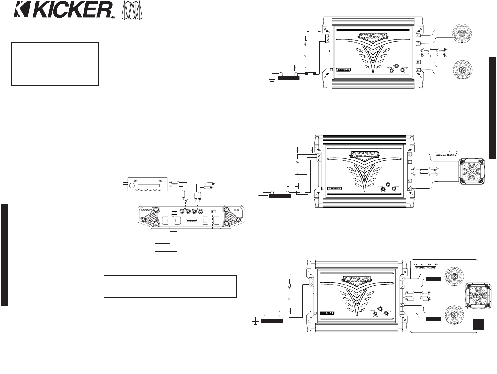 d8fef62e 2335 6764 c115 829ed713b627 bg2 page 2 of kicker stereo amplifier zx250 2 user guide Kicker Flat Subwoofers at nearapp.co