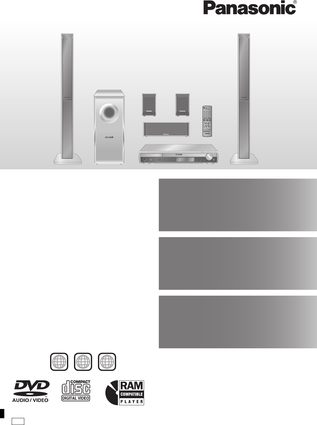 panasonic home theater system sc ht990 user guide. Black Bedroom Furniture Sets. Home Design Ideas