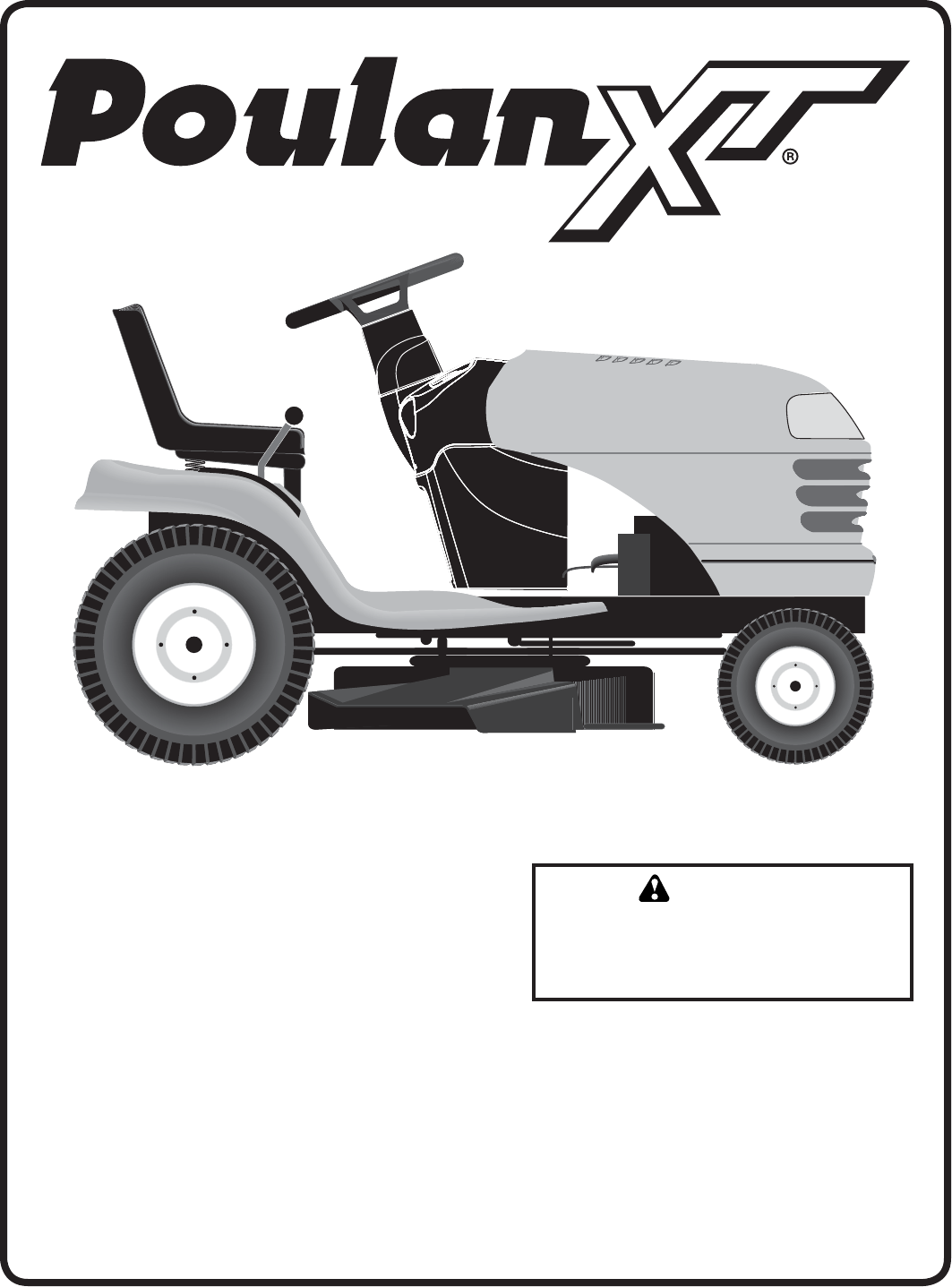 poulan lawn mower 96046000800 user guide | manualsonline.com poulan riding mower schematics #11