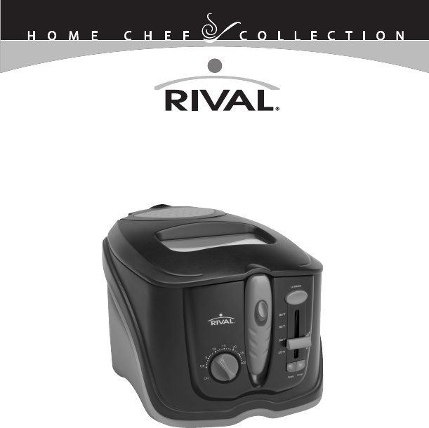 delonghi cool touch deep fryer manual
