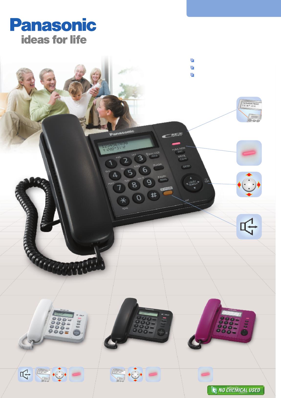 Инструкция для телефона panasonic kx t4401