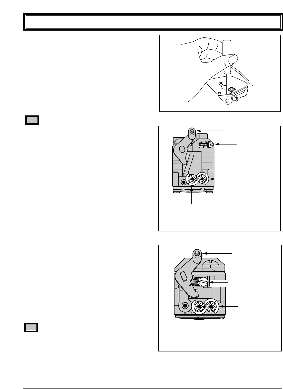 Page 14 Of Ryobi Blower 310r User Guide Manualsonlinecom Carburetor Zama C1uh13 Diagram And Parts List For Homelite Leaf 3 Initial High Speed Mixture Idle