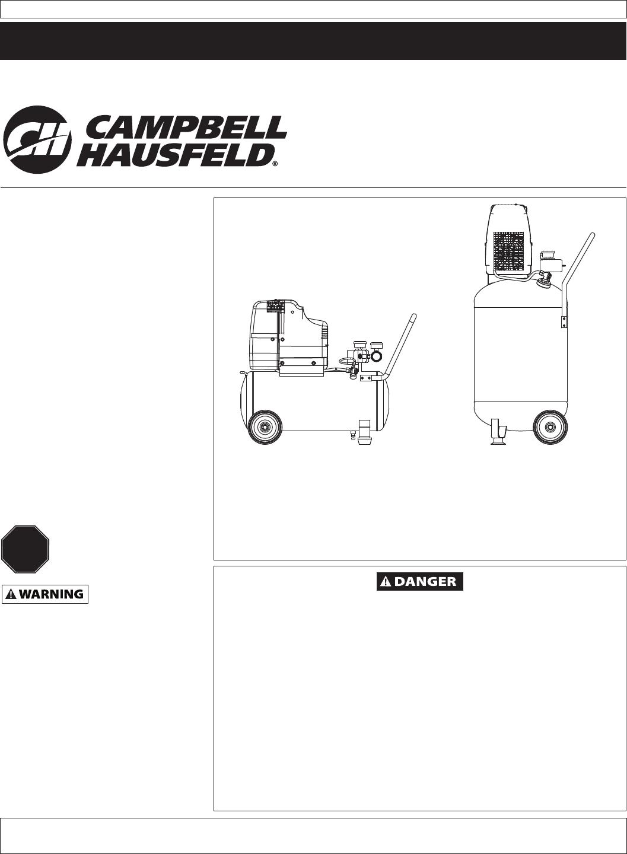 campbell hausfeld air compressor hu502000 user guide manualsonline com