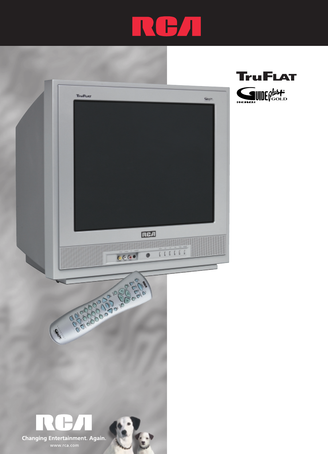 rca crt television f20tf10 user guide manualsonline com rh tv manualsonline com RCA TV Manuals RCA TruFlat TV Lock
