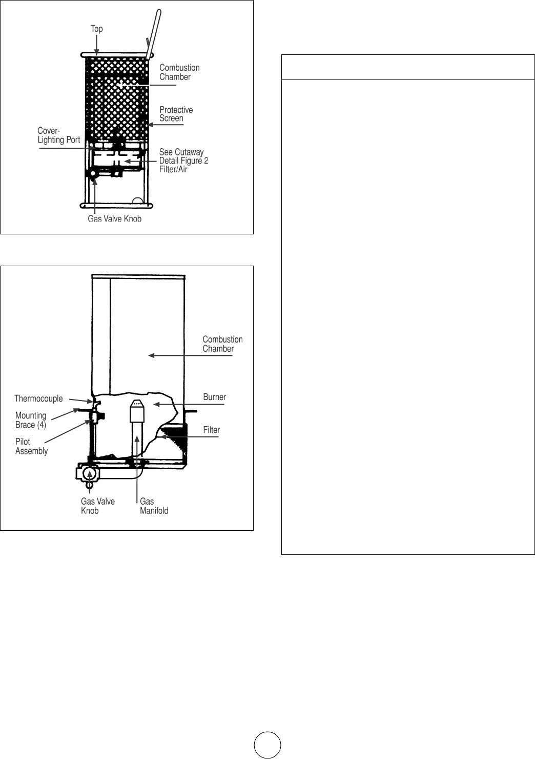 Page 6 Of Mr Heater Gas Heater Hs125ng User Guide