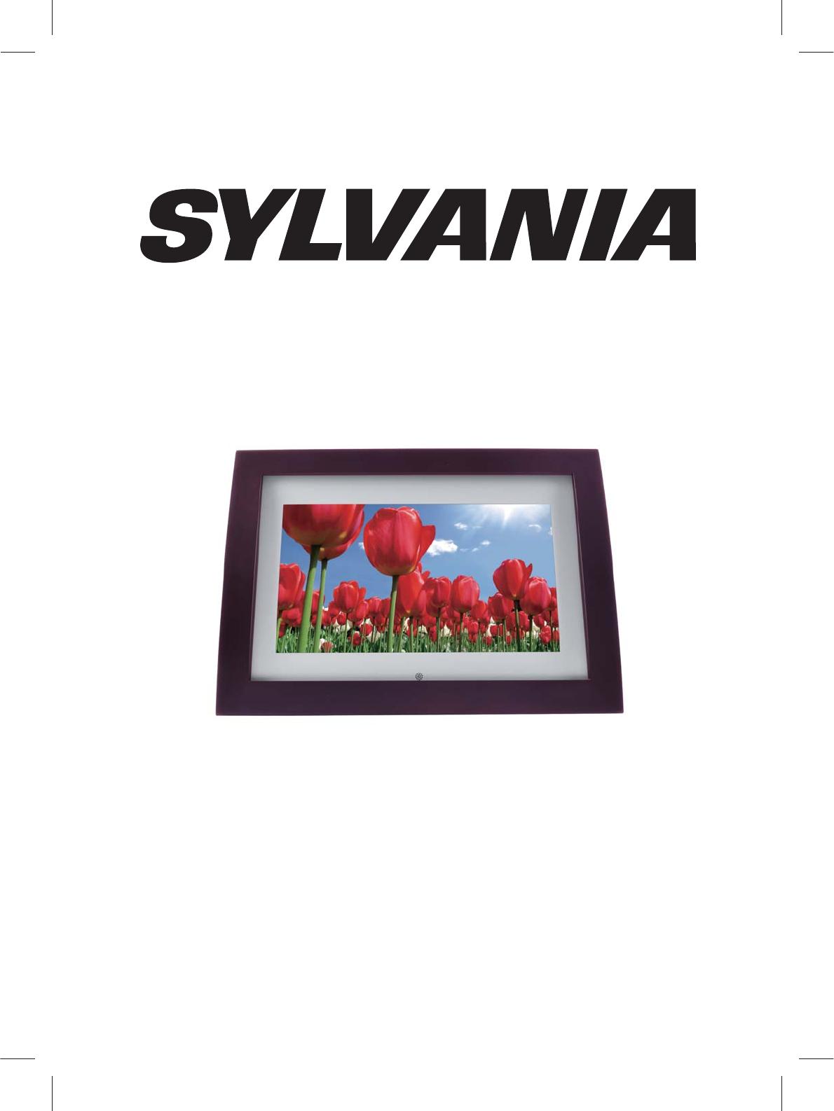 Sylvania Digital Photo Frame SDPF1008 User Guide | ManualsOnline.com