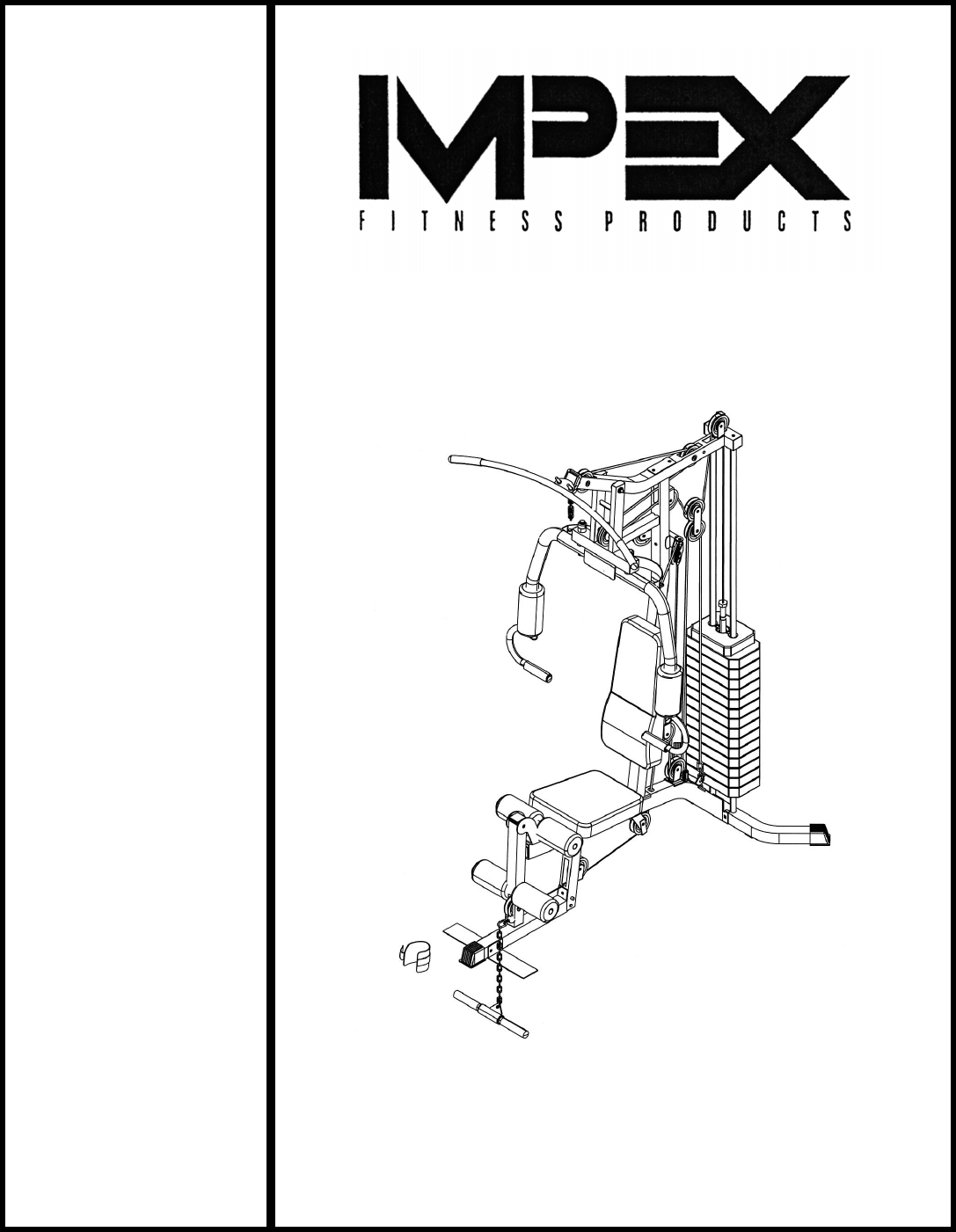Impex Home Gym Mwm 950 User Guide