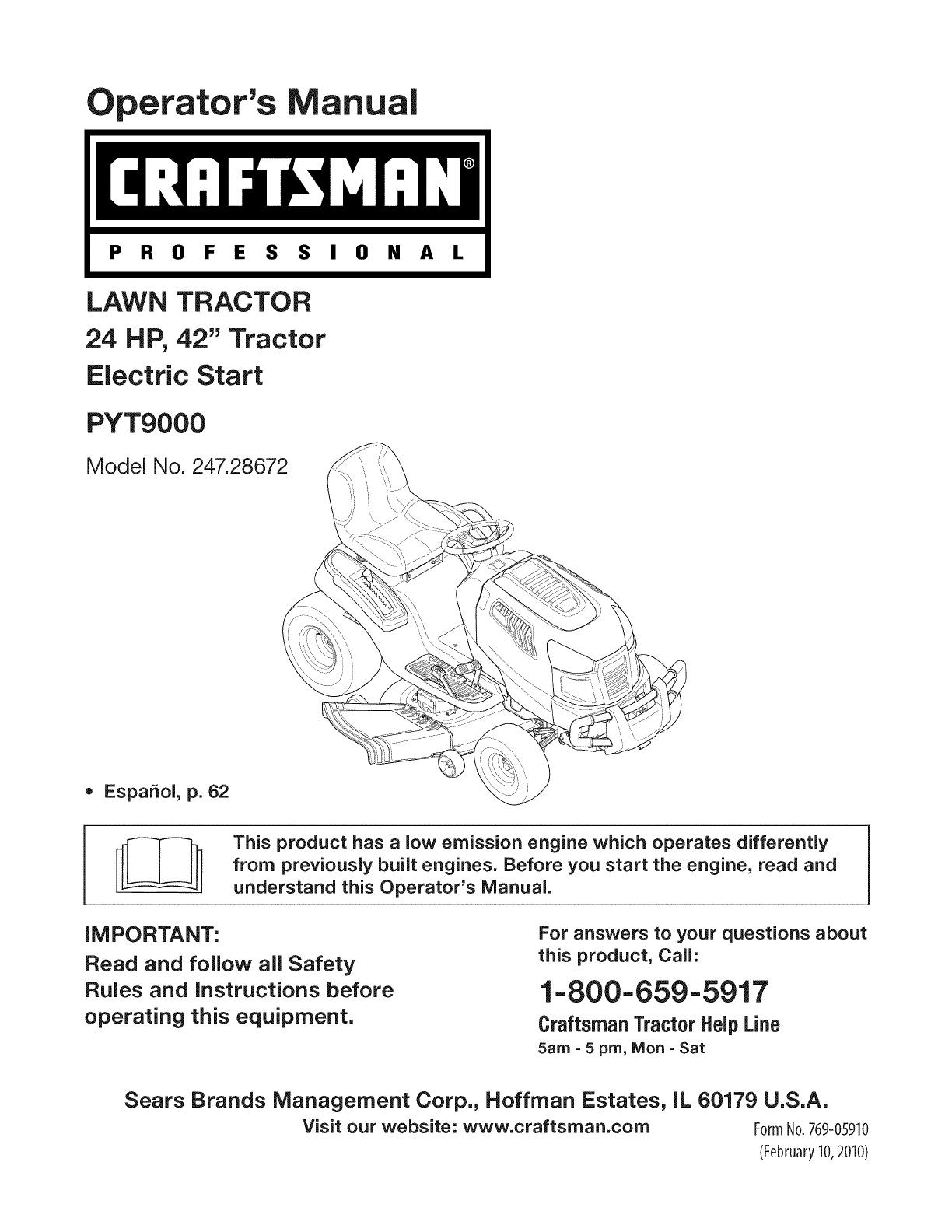 craftsman lawn mower pyt 9000 user guide manualsonline com rh lawnandgarden manualsonline com Sears Craftsman ManualsOnline Craftsman LT 2000 Manual PDF