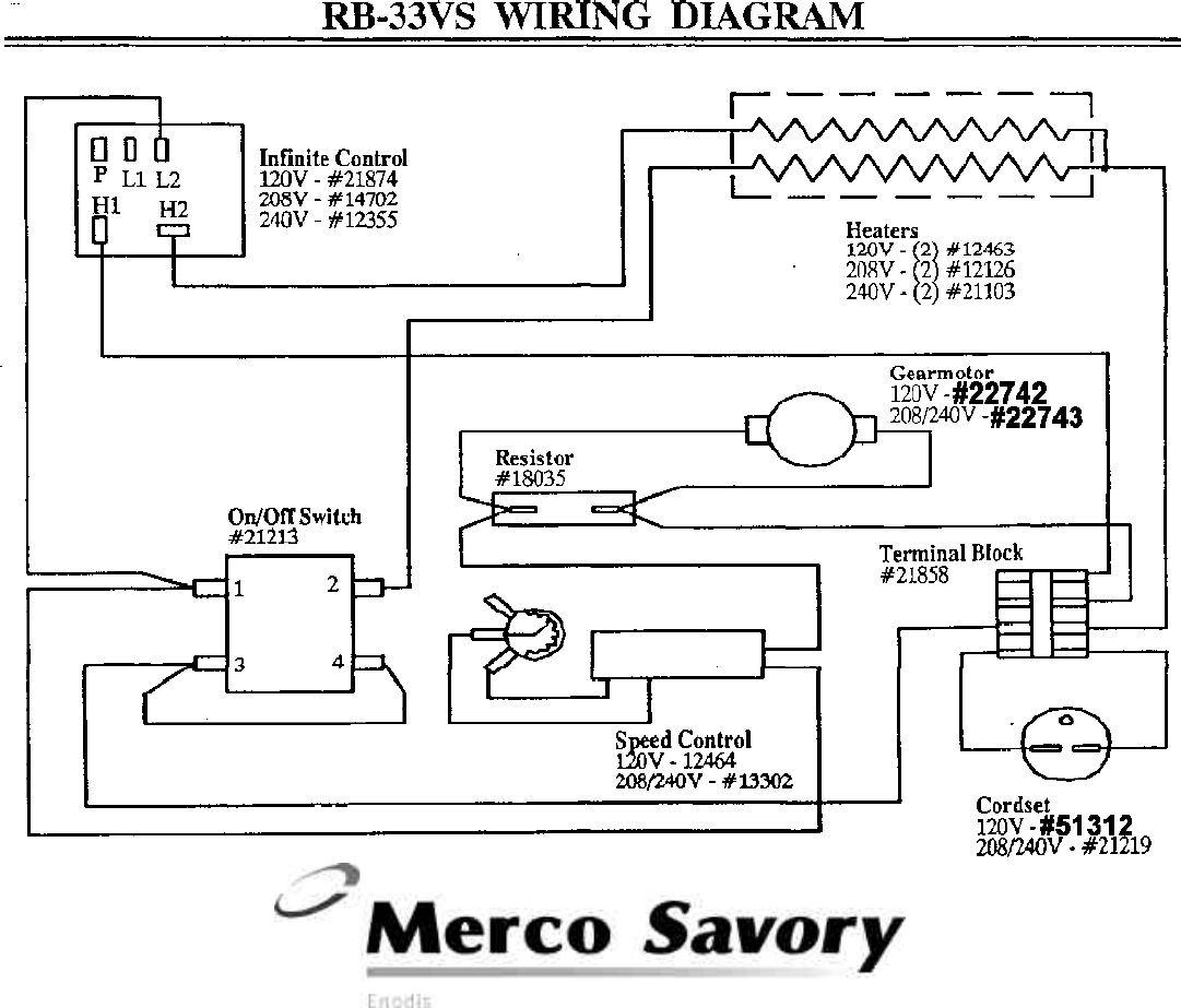 Page 4 Of Merco Savory Toaster Rb 33vs User Guide Manualsonlinecom Wiring Diagrams 1111 N Hadley Rd