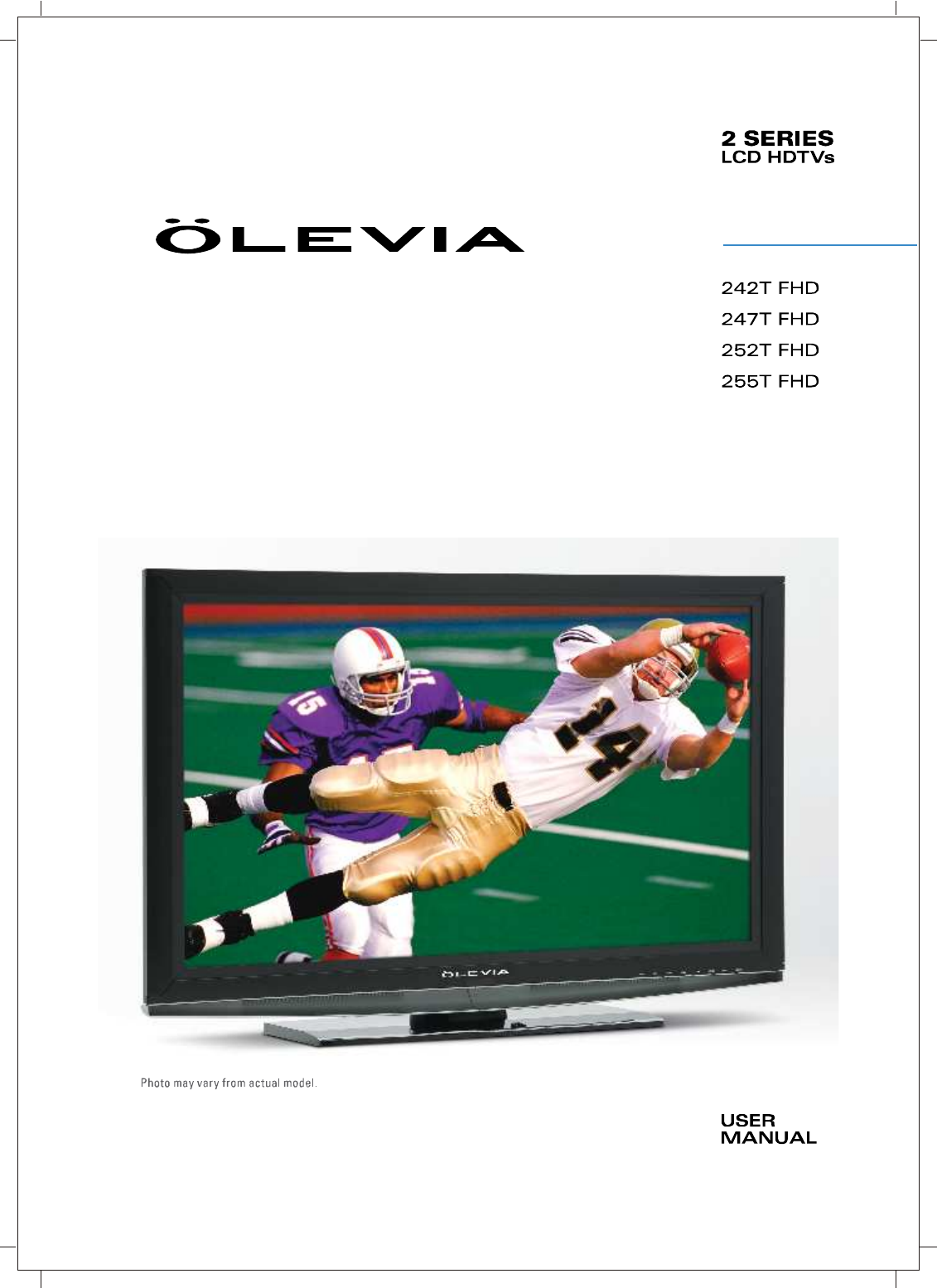 olevia flat panel television 242t fhd user guide manualsonline com rh tv manualsonline com