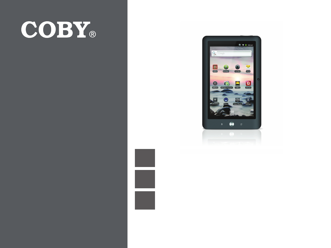 coby electronic tablet mid8120 user guide manualsonline com rh office manualsonline com coby kyros tablet manual mid 7036 coby kyros mid1125 user manual