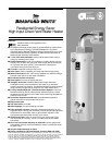 free bradford white corp water heater user manuals manualsonline com rh homeappliance manualsonline com Bradford White Gas Water Heaters Ao Smith Water Heaters Gas