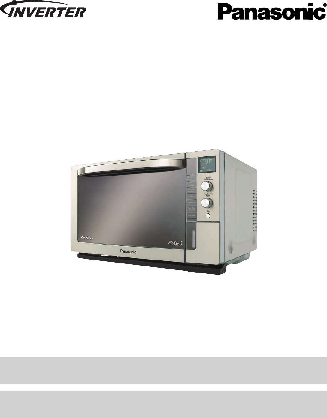 panasonic convection oven nn cs597s user guide manualsonline com rh audio manualsonline com panasonic convection oven instructions panasonic convection microwave user manual