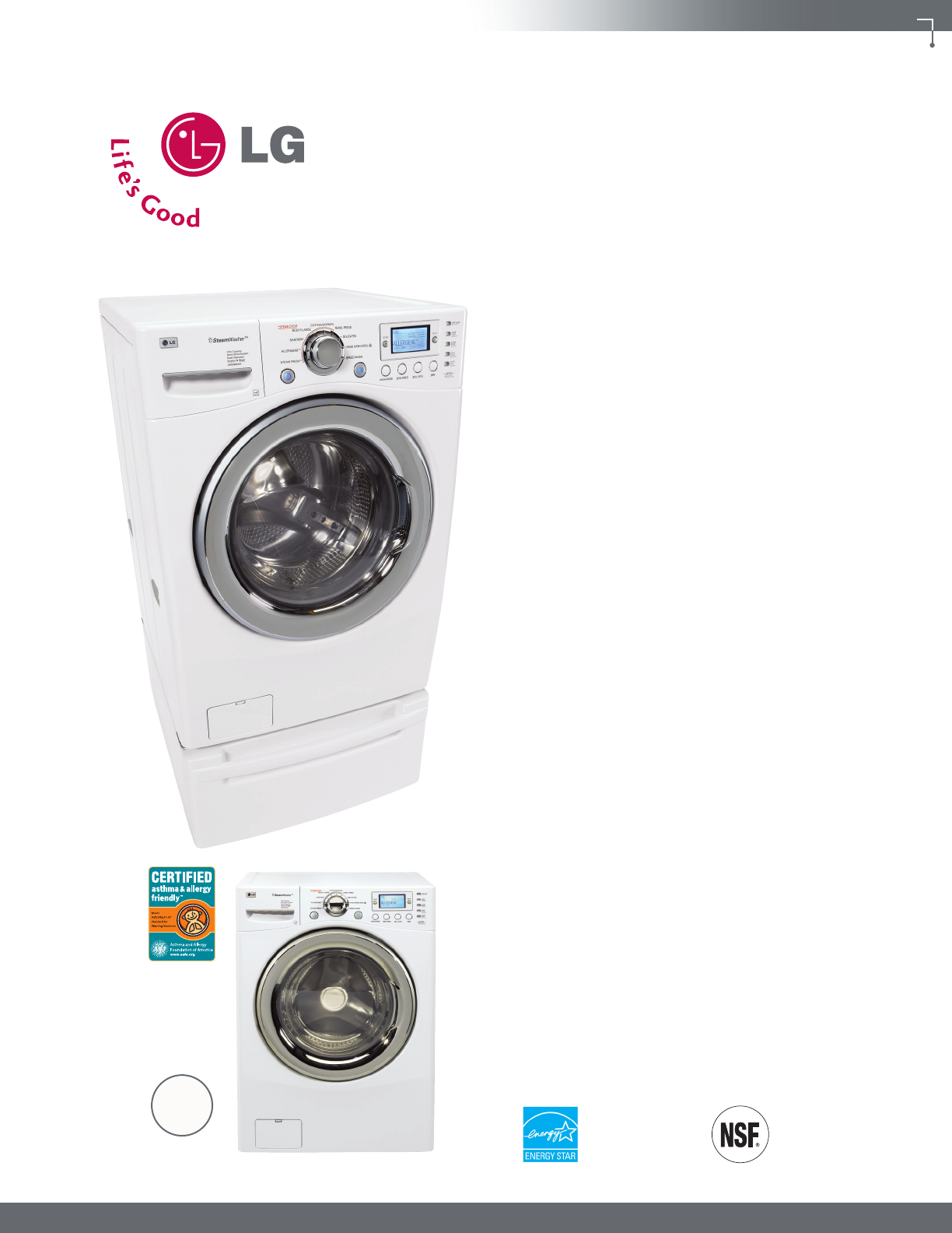 Lg Washer Dryer Instruction Manuals The Legacy Of