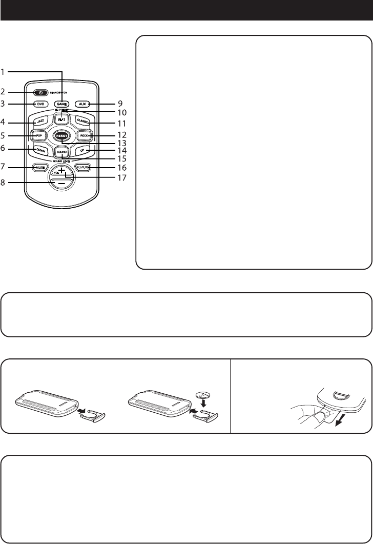 Page 6 Of Venturer Home Theater System Asr150 User Guide