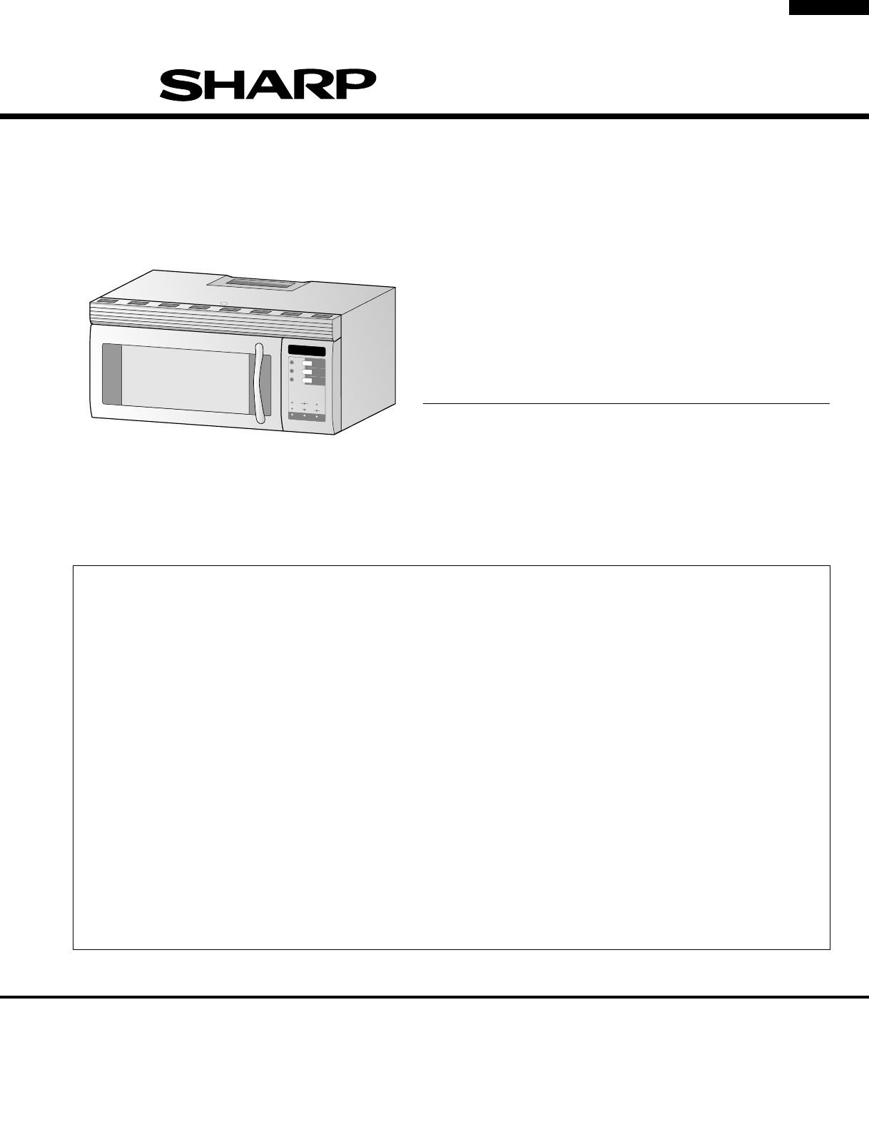 Sharp Microwave Oven R 1482 User Guide Manualsonlinecom Control Panel Circuit Diagram And Parts List For Microwaveparts 1480
