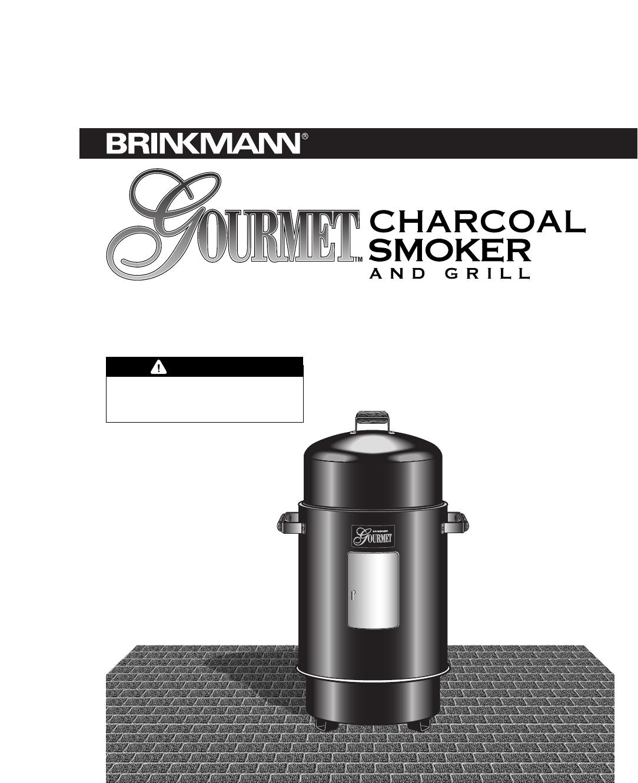 brinkmann smoke n grill charcoal smoker   brinkmann smoke ...