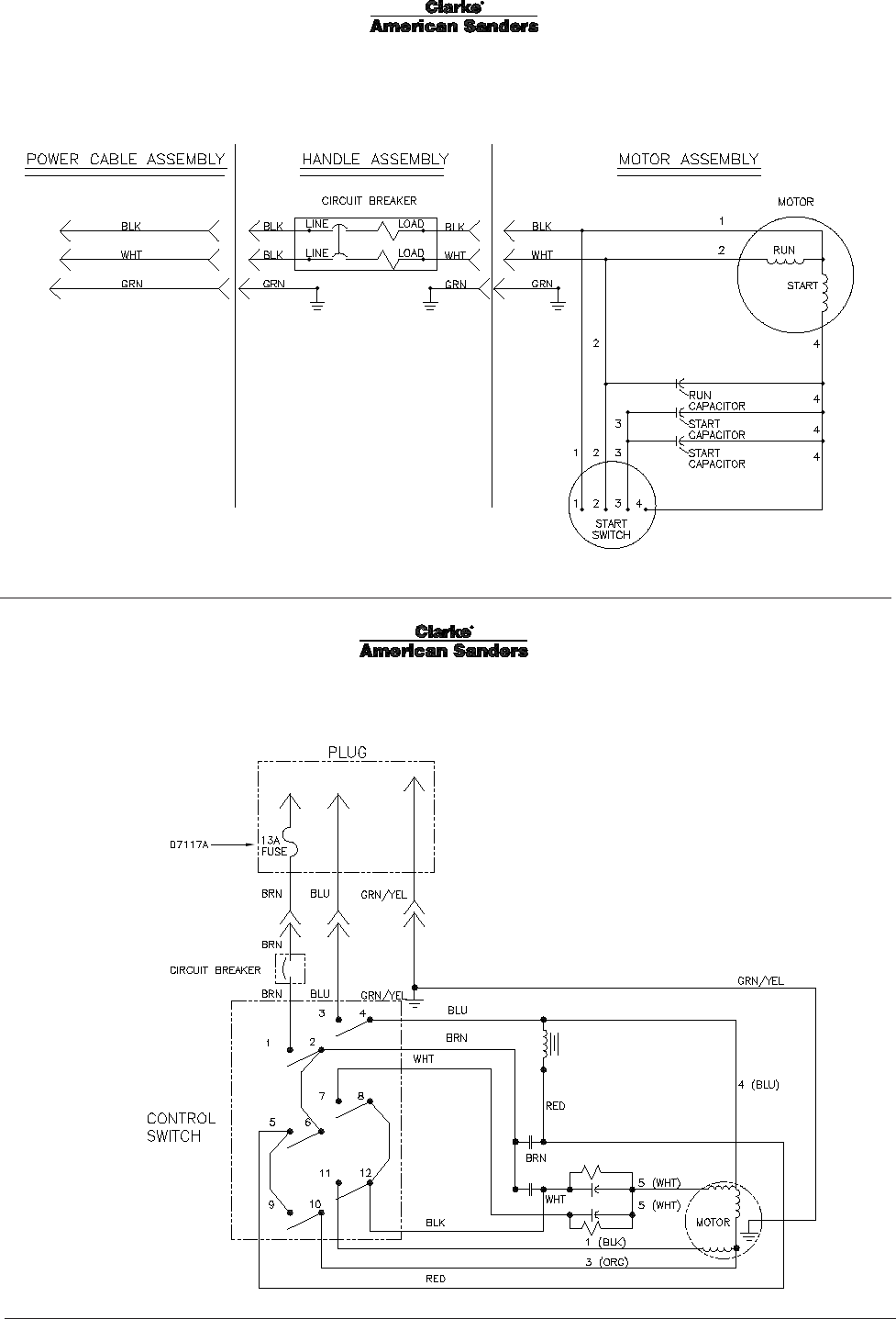 Page 72 of clarke sander 07104a user guide manualsonline floorcrafter wiring diagram asfbconference2016 Image collections