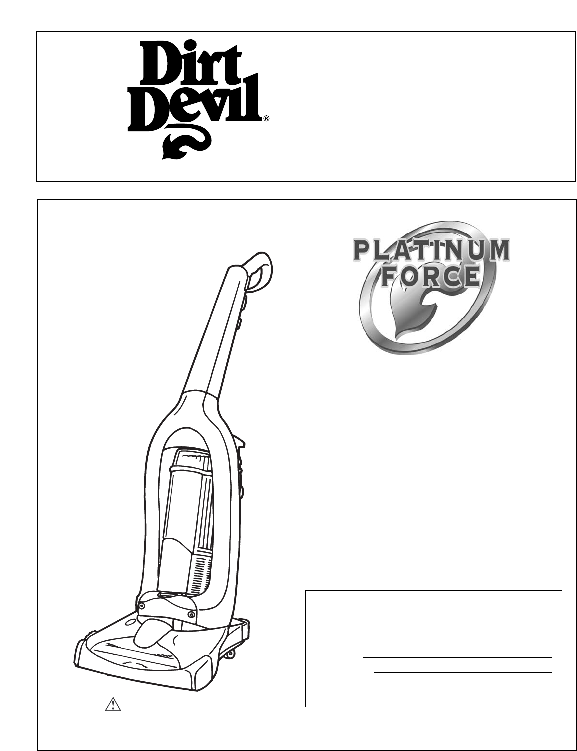 dirt devil vacuum cleaner upright bagless vacuum cleaner user guide rh homeappliance manualsonline com Dirt Devil Ultra Hand Vac Dirt Devil Bagless Canister Vacuum