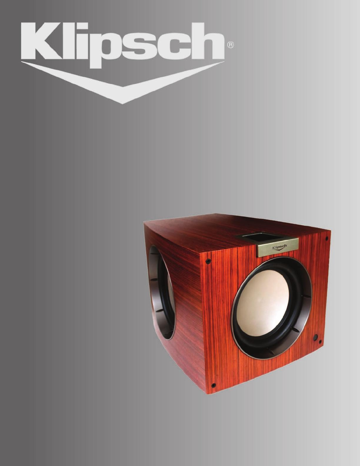 klipsch speaker p 312w user guide. Black Bedroom Furniture Sets. Home Design Ideas