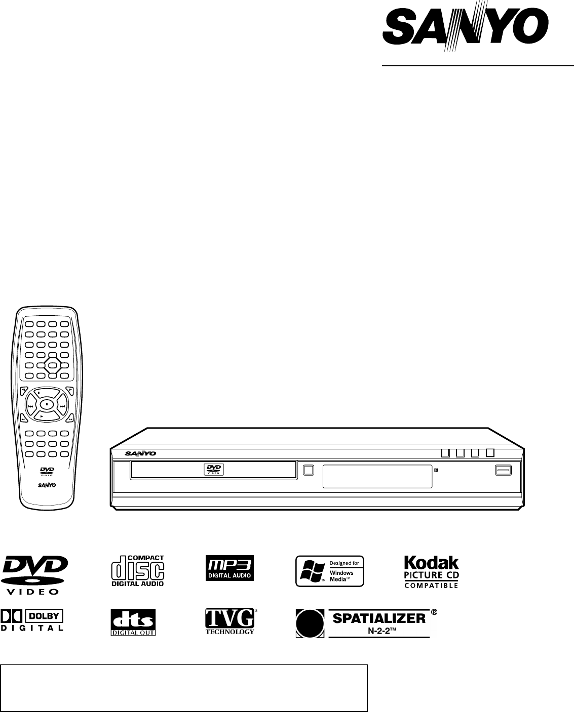 sanyo dvd player dwm 390 user guide manualsonline com rh tv manualsonline com sanyo dvd player manual for model fwbp506ff sony dvd player manuals free download