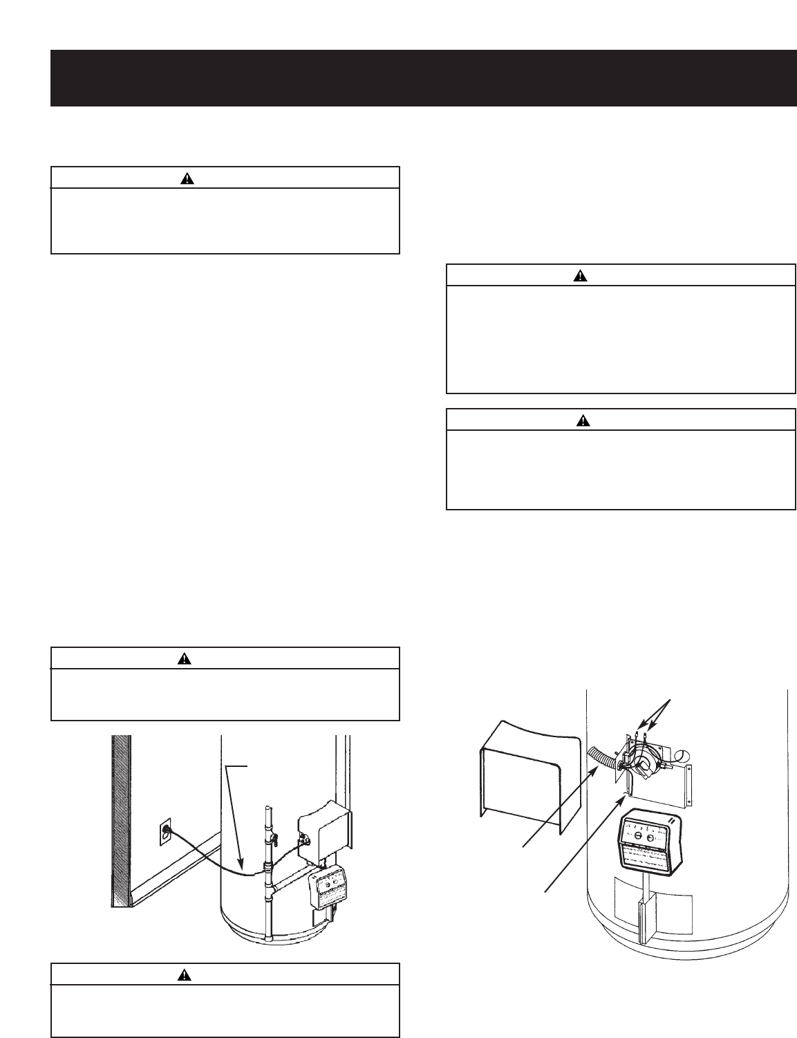 Page 12 Of Reliance Water Heaters Heater 606 User Guide Wiring Diagram Installing The New Contd