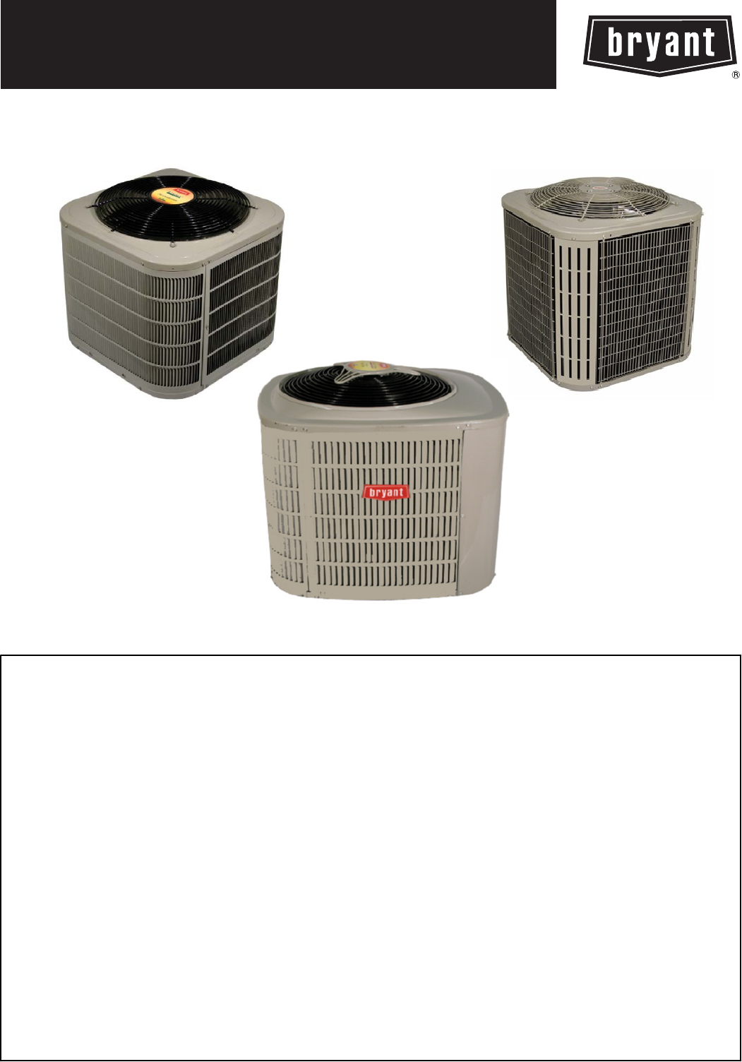 #9F322C Bryant Air Conditioner Central Air Conditioning System  Brand New 11271 Bryant Central Air Conditioning Units images with 1051x1504 px on helpvideos.info - Air Conditioners, Air Coolers and more