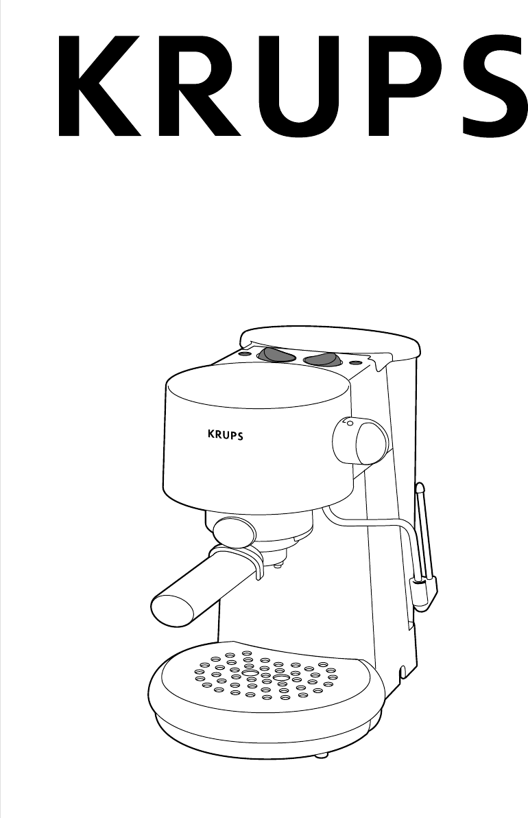 Krups Coffee Maker Km1000 Manual : Krups Coffeemaker 880-42 User Guide ManualsOnline.com