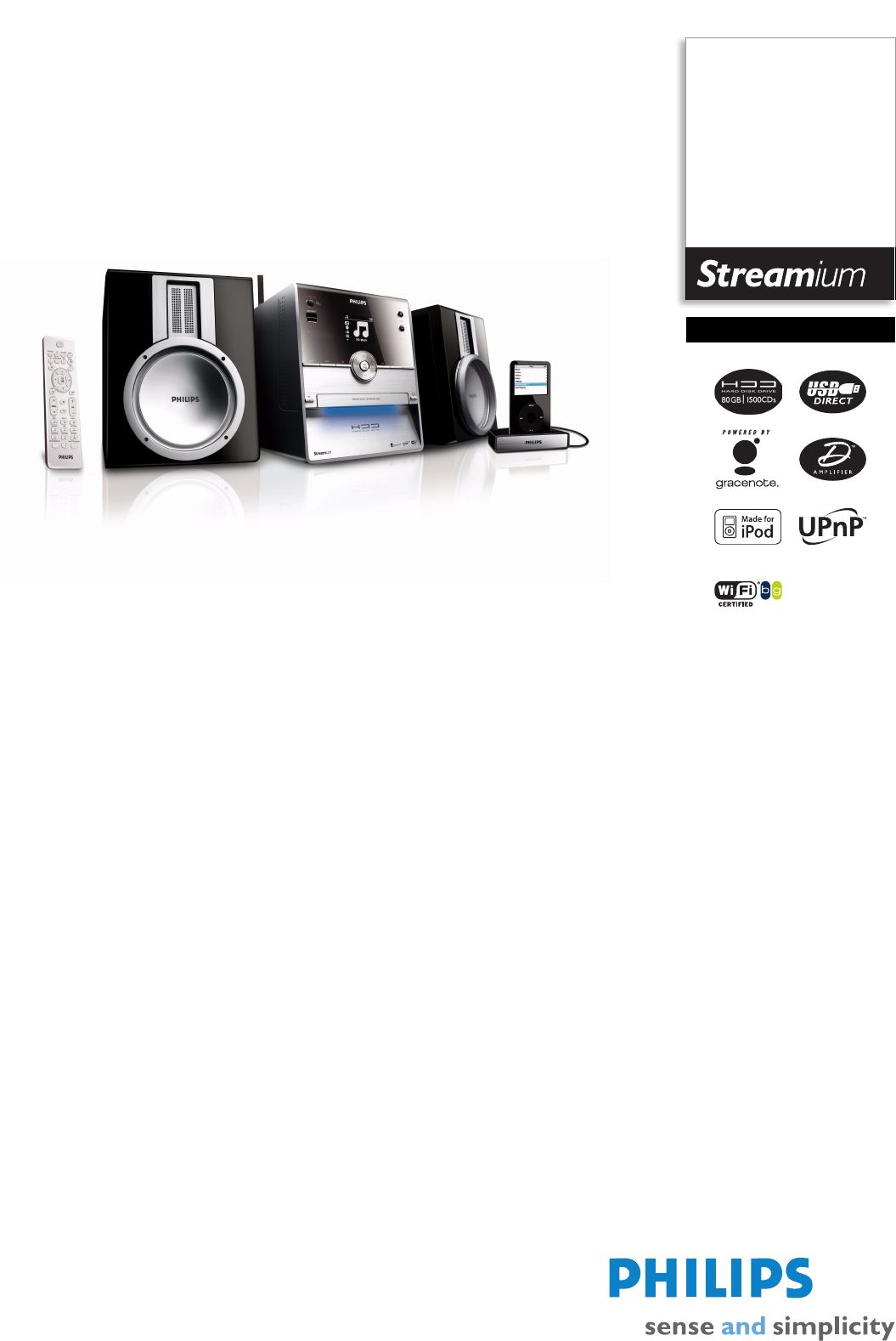 philips stereo system wac3500d user guide manualsonline com rh audio manualsonline com Philips TV Manual Philips TV User Manual