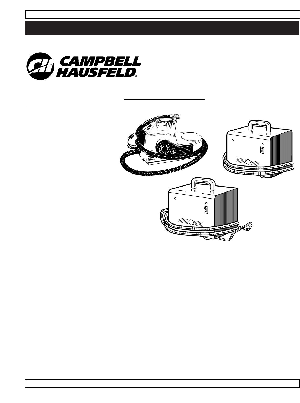 campbell hausfeld paint sprayer manual