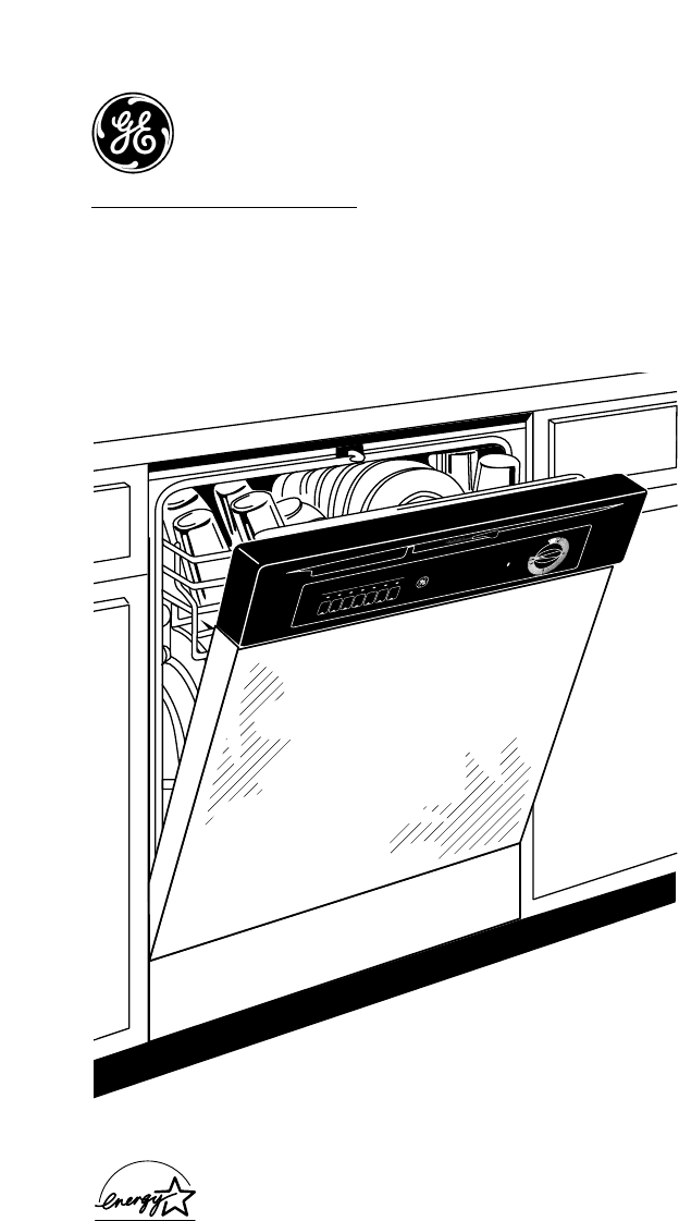 ge built in dishwasher manual