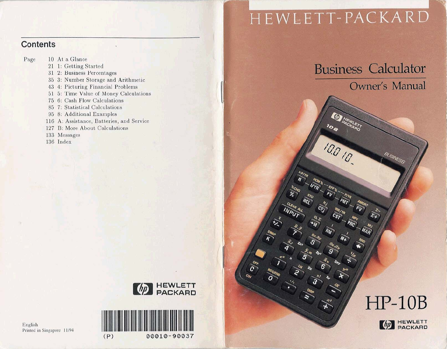 hp hewlett packard calculator hp 10b user guide manualsonline com rh office manualsonline com hp 10bii financial calculator user guide hp 10bii user manual